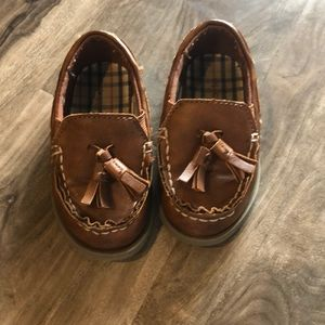 Brown Leather Loafer Dress Shoes